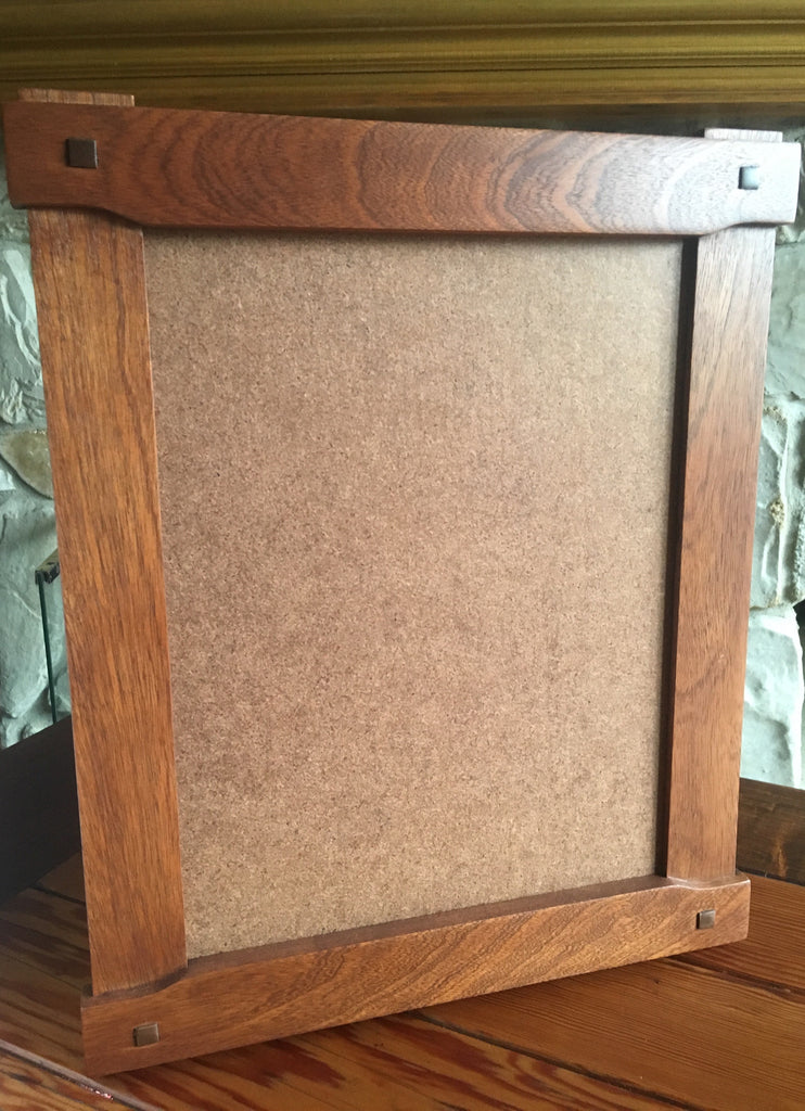 11x 14 Greene And Greene Style Craftsman Cloudlift Frame Sapele