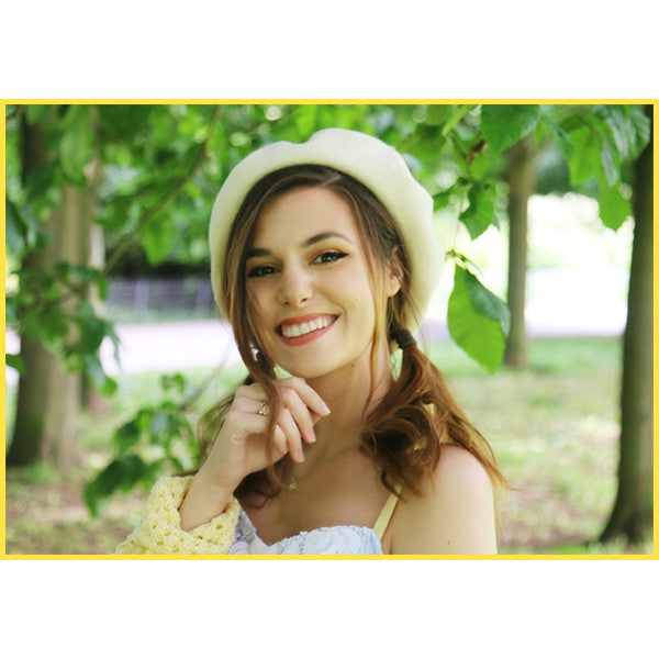 Lemon Leaf Beret