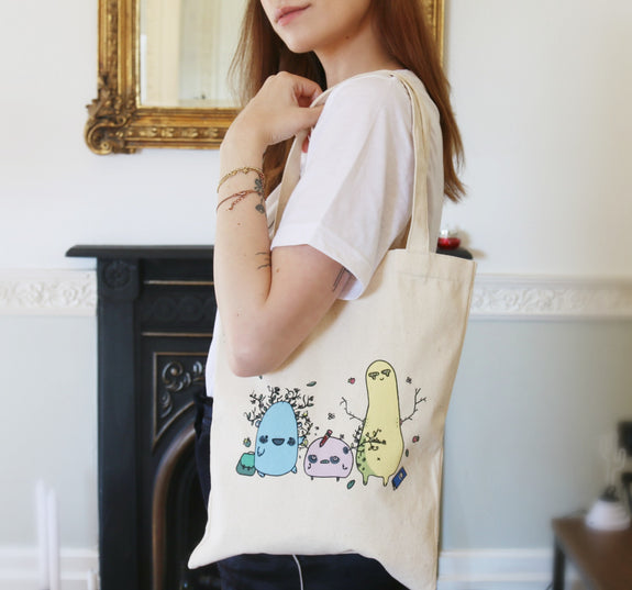 Forest Creatures Tote