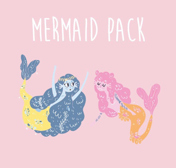 Bethany Grace x Marzia Mermaid Pack