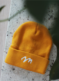 Embroidered Mountain Beanie