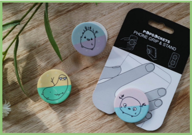 Forest Creatures PopSocket Set!