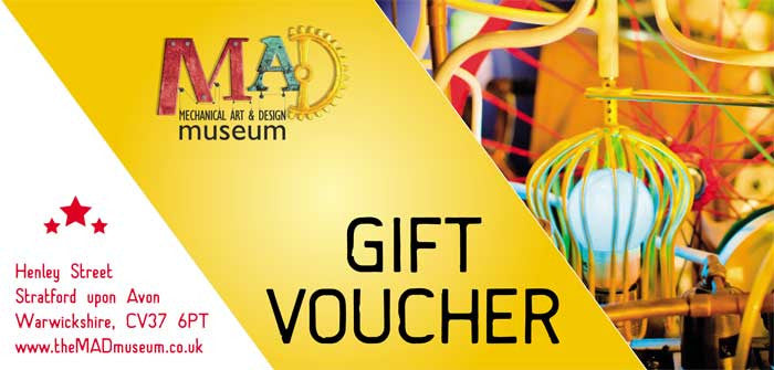 MAD Museum Child Gift Ticket - MAD Factory