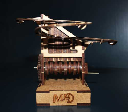 Marble Machine #1 Hand Cranked Kit - MAD Factory