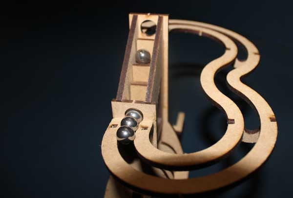 Simple Marble Machine Kit - MAD Factory