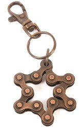 Recycled Bike Chain Keyring - MAD Factory