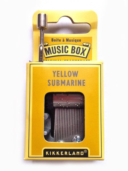Yellow Submarine Music Box - MAD Factory