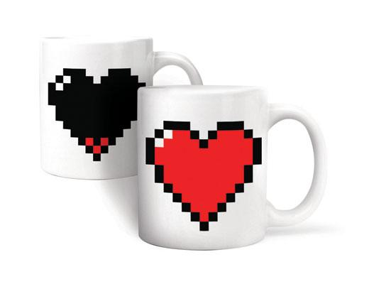 Pixel Heart Morph Mug - MAD Factory