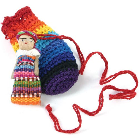 Worry Doll With Bag