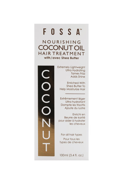Nourishing Coconut Oil Hair Treatment with Shea Butter