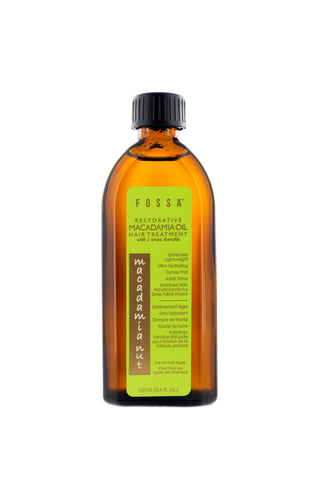 Restorative Macadamia Nut Oil Hair Treatment with Keratin