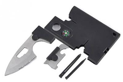 10-in-1 Survival Pocket Tool & Knife