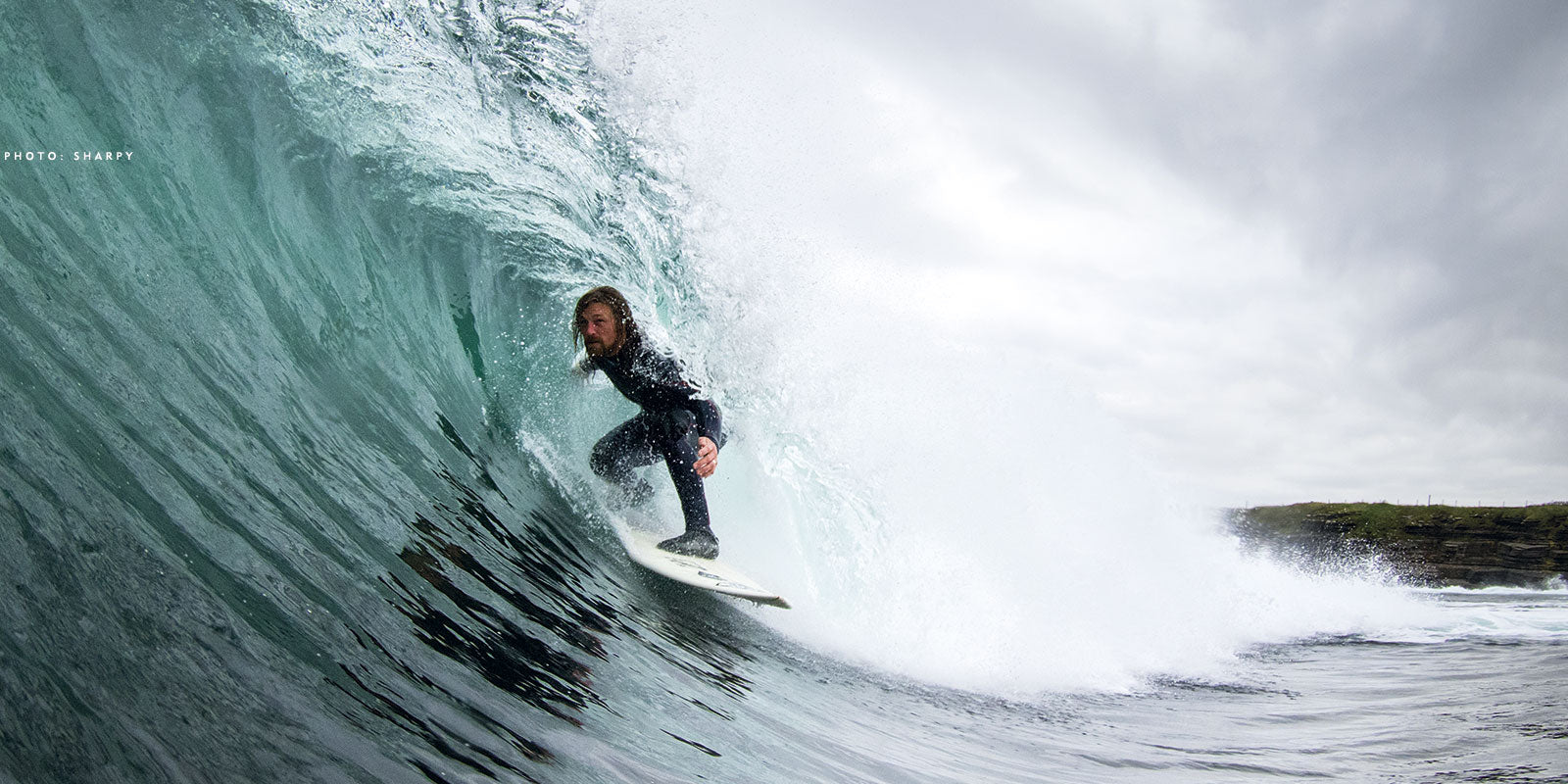 Ben Skinner surfer & shaper Photo Credit: SHARPY