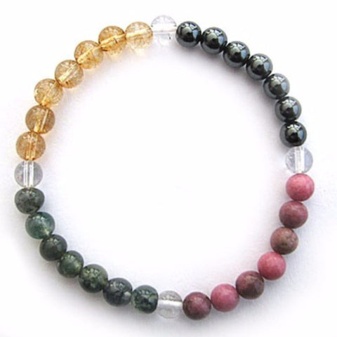 Gemstone ENERGY BRACELET Crystal Healing - ACHIEVEMENT - Crystal Rock Emporium