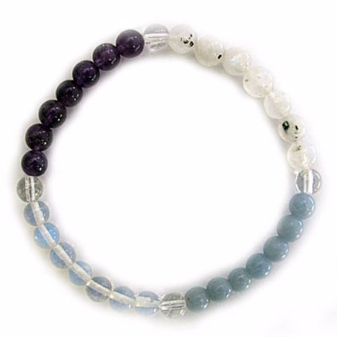 Gemstone ENERGY BRACELET Crystal Healing - ANGELS - Crystal Rock Emporium