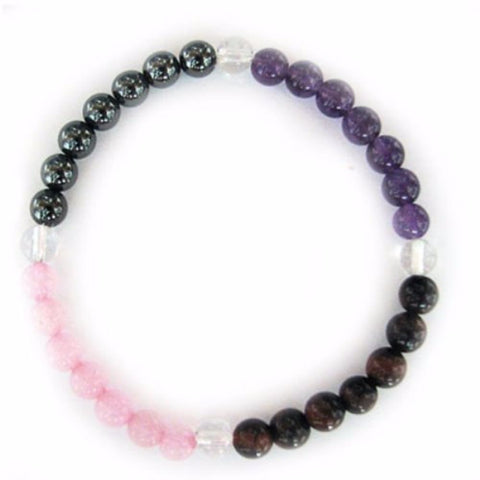 Gemstone ENERGY BRACELET Crystal Healing - ANTI STRESS - Crystal Rock Emporium
