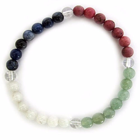 Gemstone ENERGY BRACELET Crystal Healing - CALMING - Crystal Rock Emporium