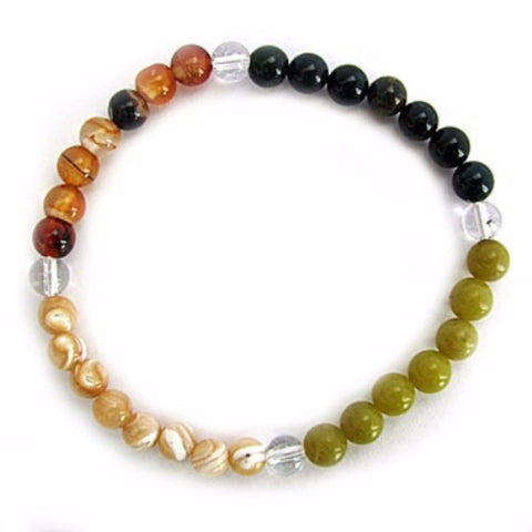 Gemstone ENERGY BRACELET Crystal Healing - CHILDBIRTH - Crystal Rock Emporium