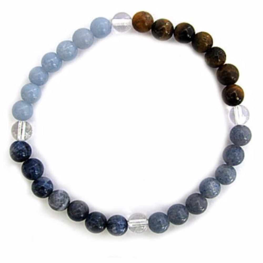 Gemstone ENERGY BRACELET Crystal Healing - COMMUNICATION - Crystal Rock Emporium