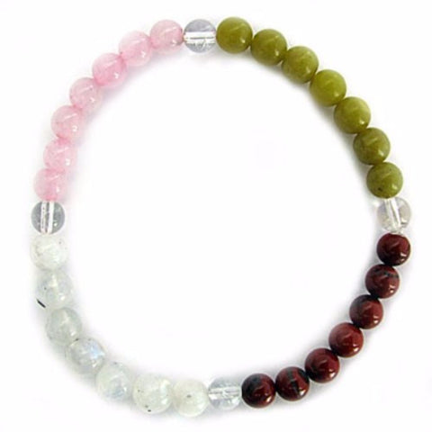 Gemstone ENERGY BRACELET Crystal Healing - COMPASSION - Crystal Rock Emporium