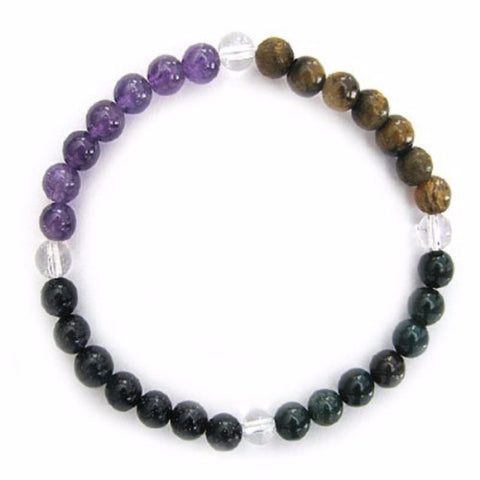 Gemstone ENERGY BRACELET Crystal Healing - COURAGE - Crystal Rock Emporium