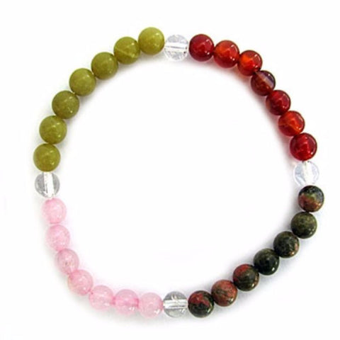 Gemstone ENERGY BRACELET Crystal Healing - FERTILITY - Crystal Rock Emporium