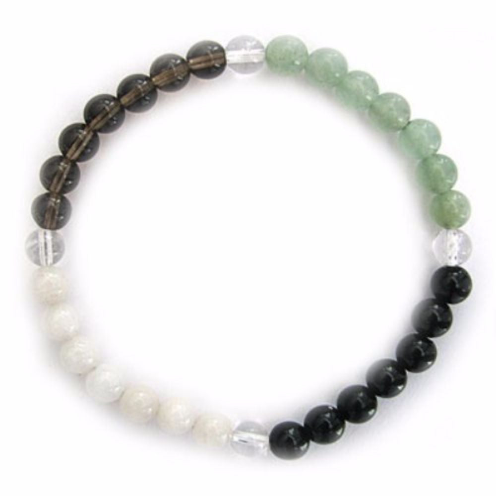 Gemstone ENERGY BRACELET Crystal Healing - GOOD LUCK - Crystal Rock Emporium