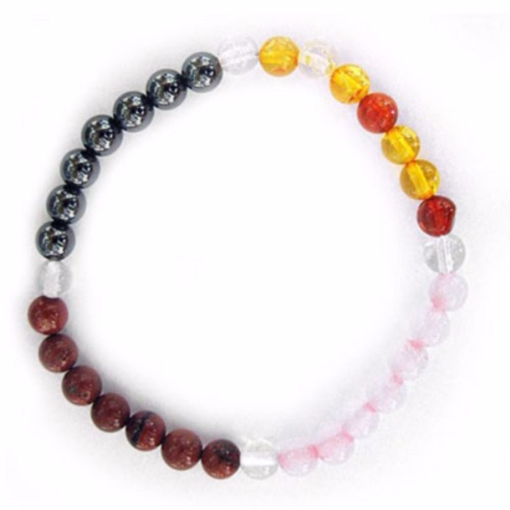 Gemstone ENERGY BRACELET Crystal Healing - HAPPINESS - Crystal Rock Emporium