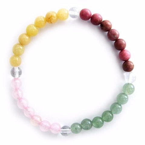Gemstone ENERGY BRACELET Crystal Healing - PEACE OF MIND - Crystal Rock Emporium