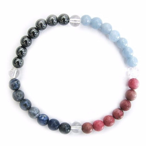 Gemstone ENERGY BRACELET Crystal Healing - PEACE - Crystal Rock Emporium