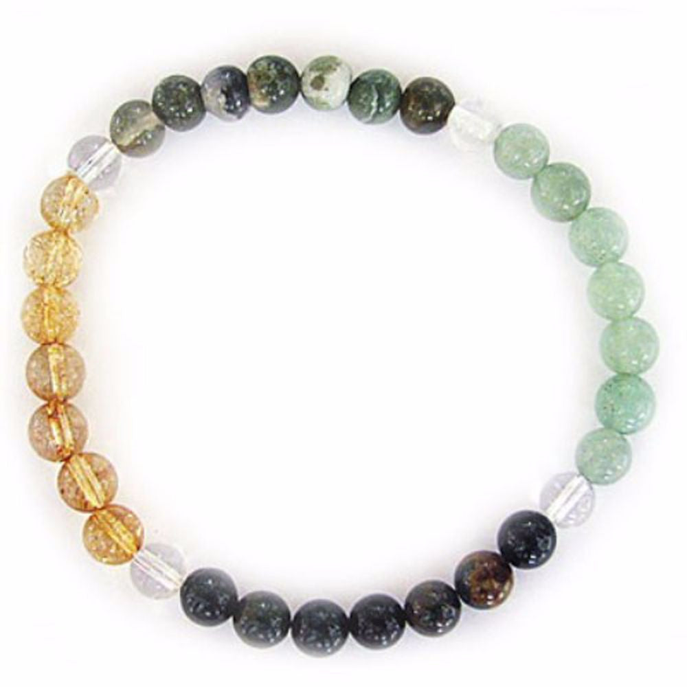 Gemstone ENERGY BRACELET Crystal Healing - PROSPERITY - Crystal Rock Emporium