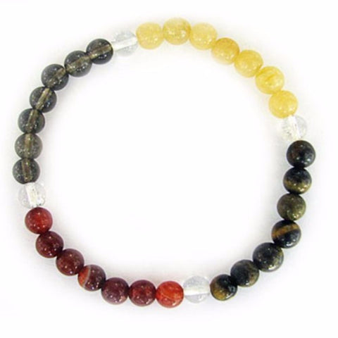 Gemstone ENERGY BRACELET Crystal Healing - PROTECTION - Crystal Rock Emporium