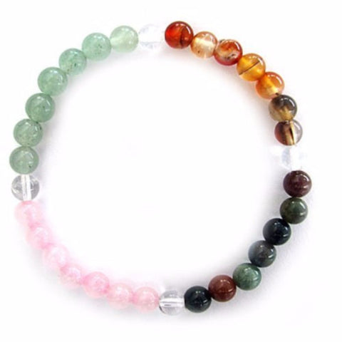 Gemstone ENERGY BRACELET Crystal Healing - STRESS - Crystal Rock Emporium