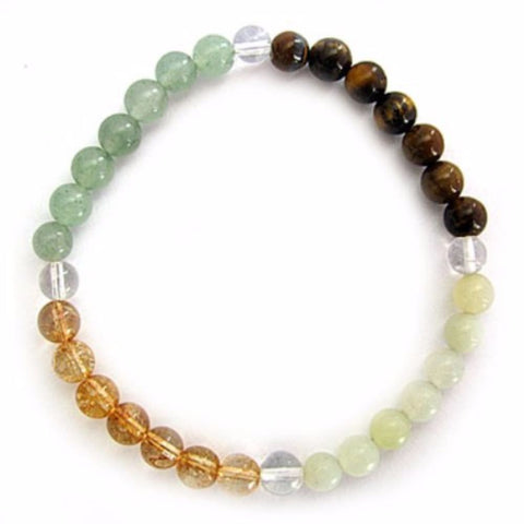 Gemstone ENERGY BRACELET Crystal Healing - SUCCESS - Crystal Rock Emporium