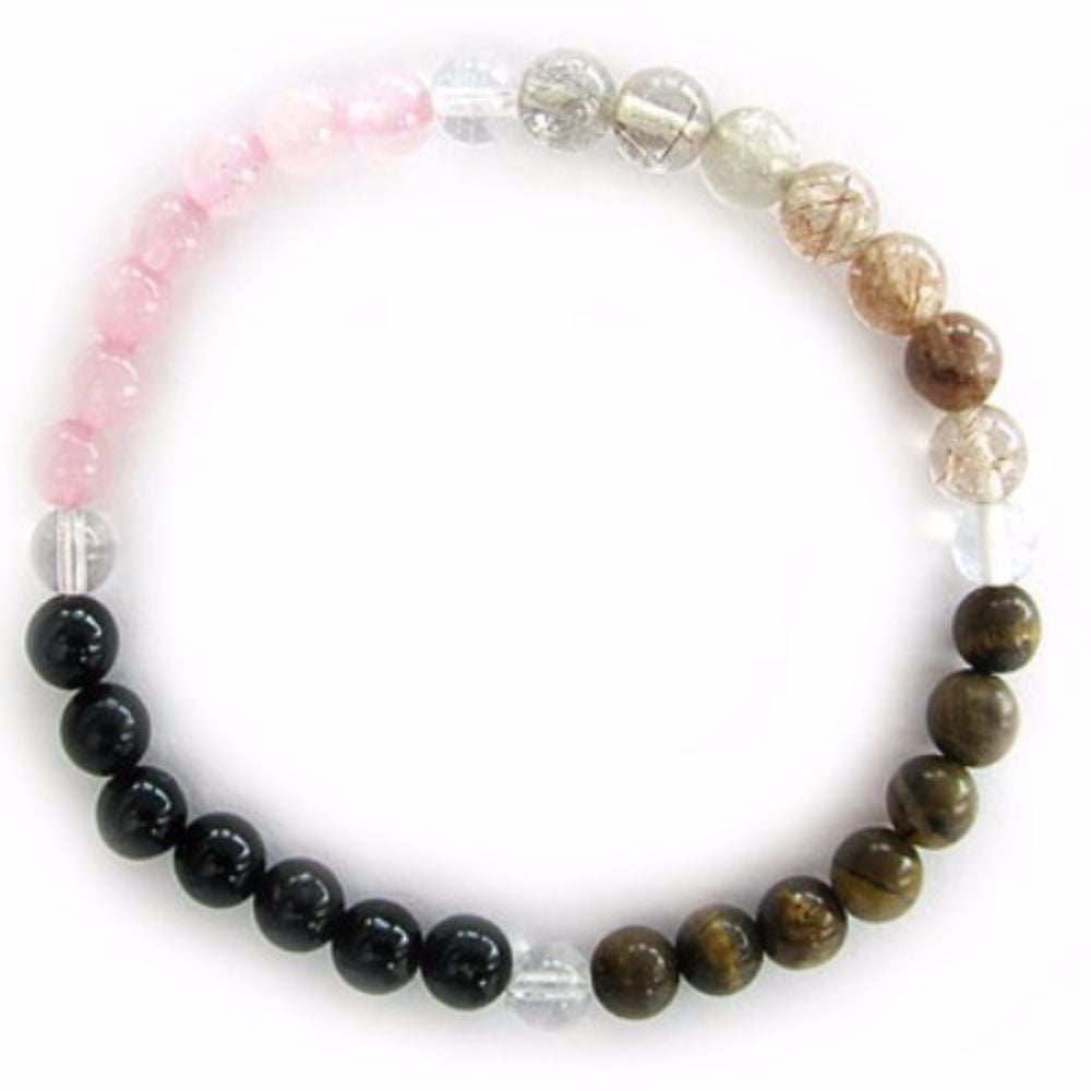 Gemstone ENERGY BRACELET Crystal Healing - WILLPOWER - Crystal Rock Emporium