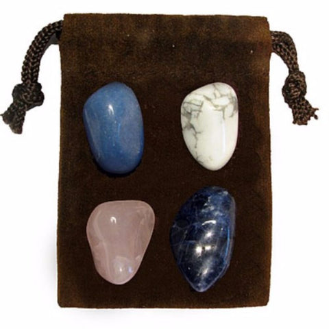 ENERGY KIT Crystal Healing Set - ANGER RELEASE - Crystal Rock Emporium