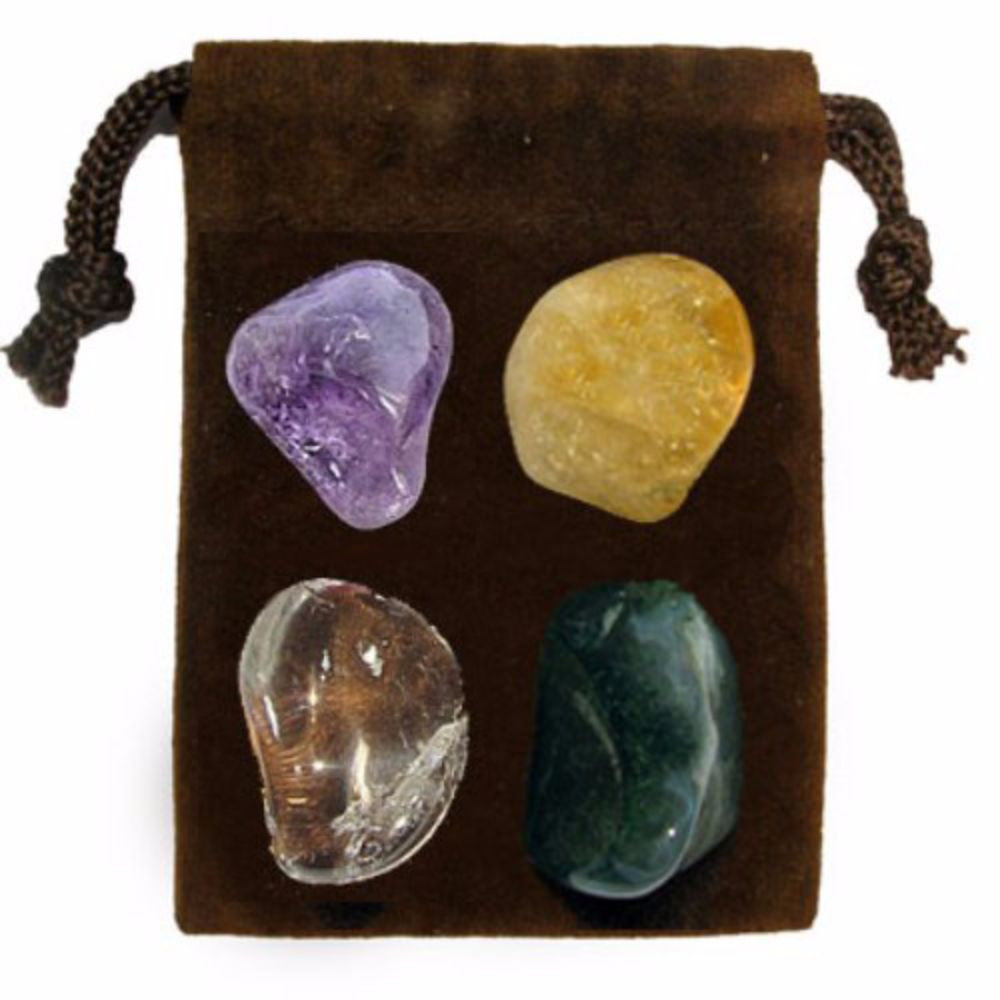 ENERGY KIT Crystal Healing Set - ANTI DEPRESSION - Crystal Rock Emporium