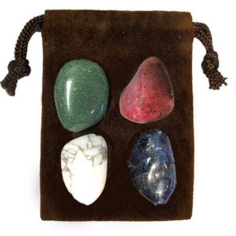 ENERGY KIT Crystal Healing Set - CALMING - Crystal Rock Emporium