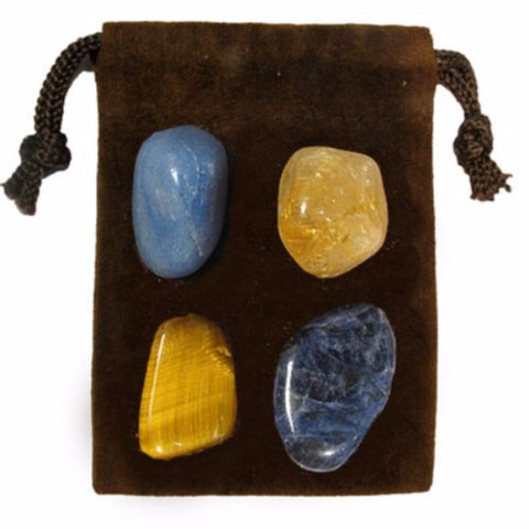 ENERGY KIT Crystal Healing Set - COMMUNICATION - Crystal Rock Emporium