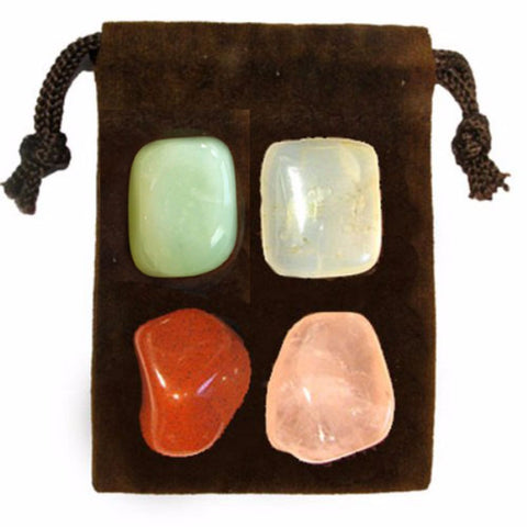 ENERGY KIT Crystal Healing Set - COMPASSION - Crystal Rock Emporium