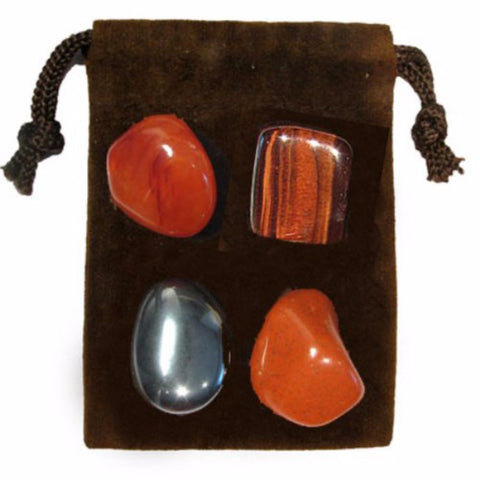 ENERGY KIT Crystal Healing Set - CONCENTRATION - Crystal Rock Emporium