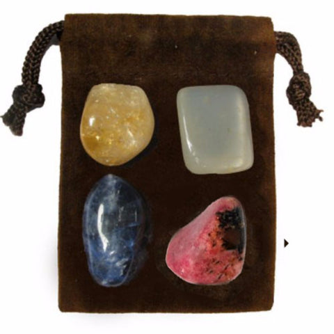 ENERGY KIT Crystal Healing Set - CONFIDENCE - Crystal Rock Emporium