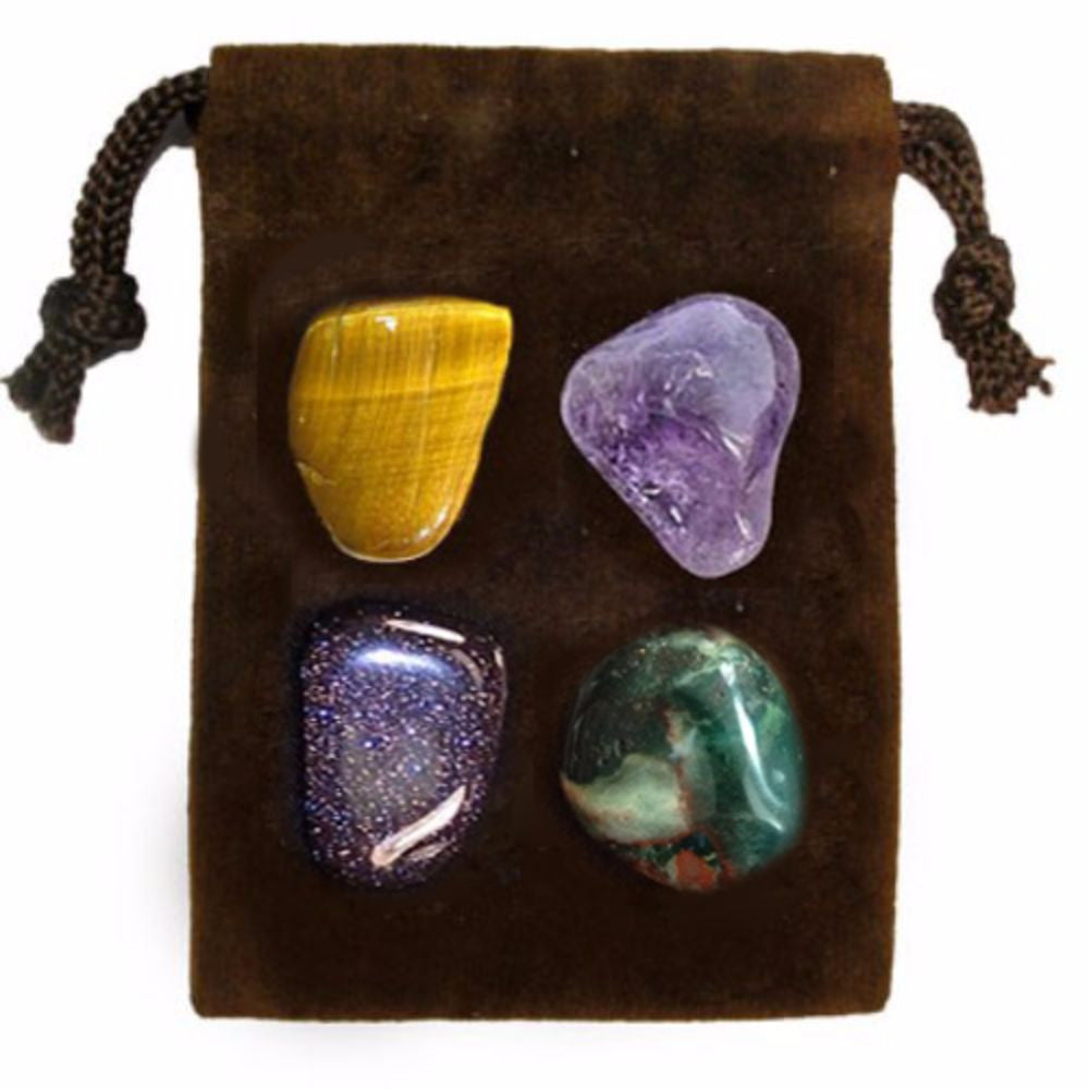 ENERGY KIT Crystal Healing Set - COURAGE - Crystal Rock Emporium