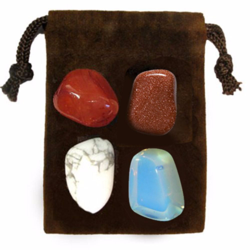 ENERGY KIT Crystal Healing Set - ENERGY BOOSTER - Crystal Rock Emporium