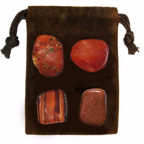 ENERGY KIT Crystal Healing Set - ENERGY ~ DRIVE - Crystal Rock Emporium