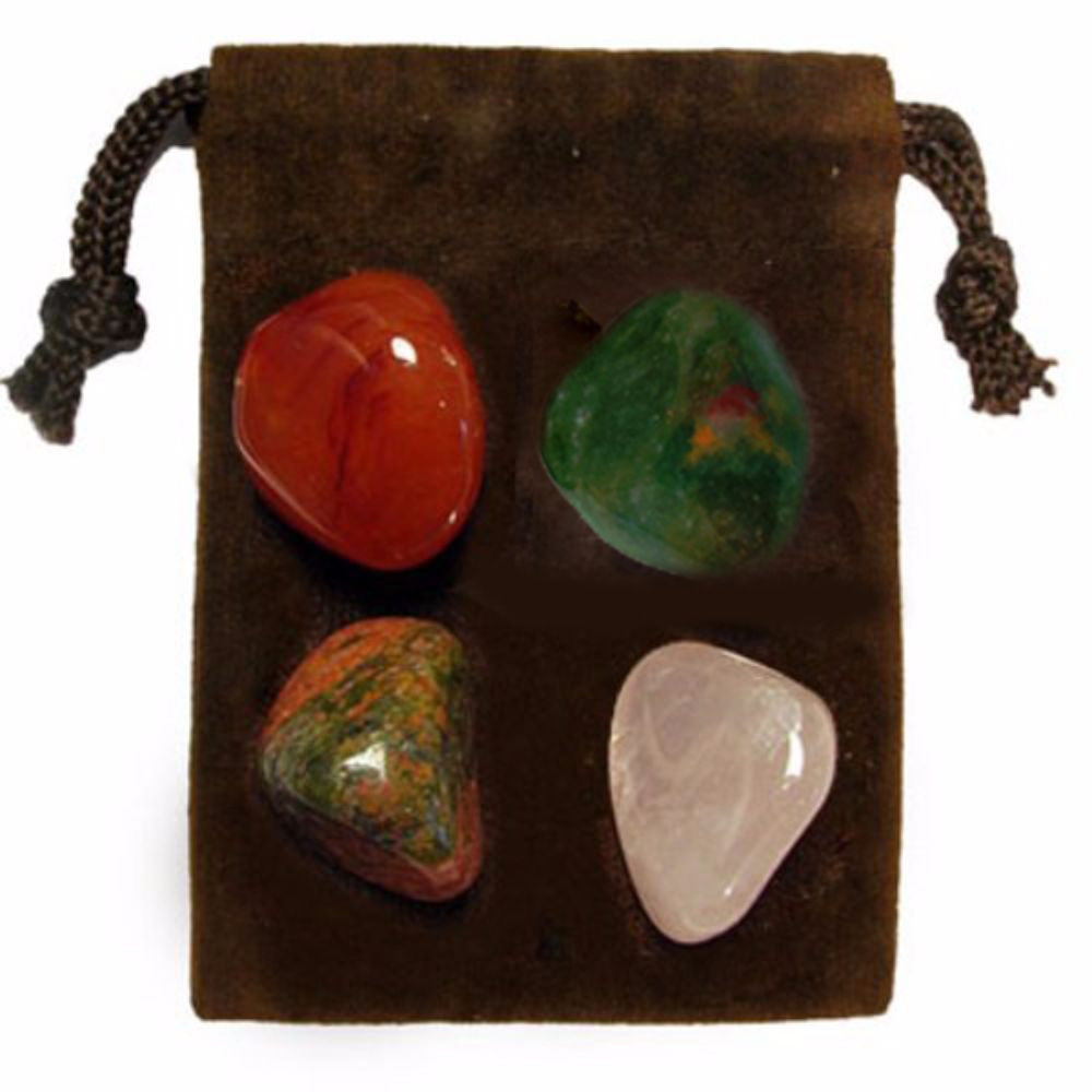 ENERGY KIT Crystal Healing Set - FERTILITY - Crystal Rock Emporium