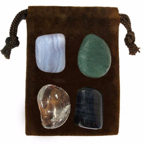 ENERGY KIT Crystal Healing Set - GOOD LUCK - Crystal Rock Emporium