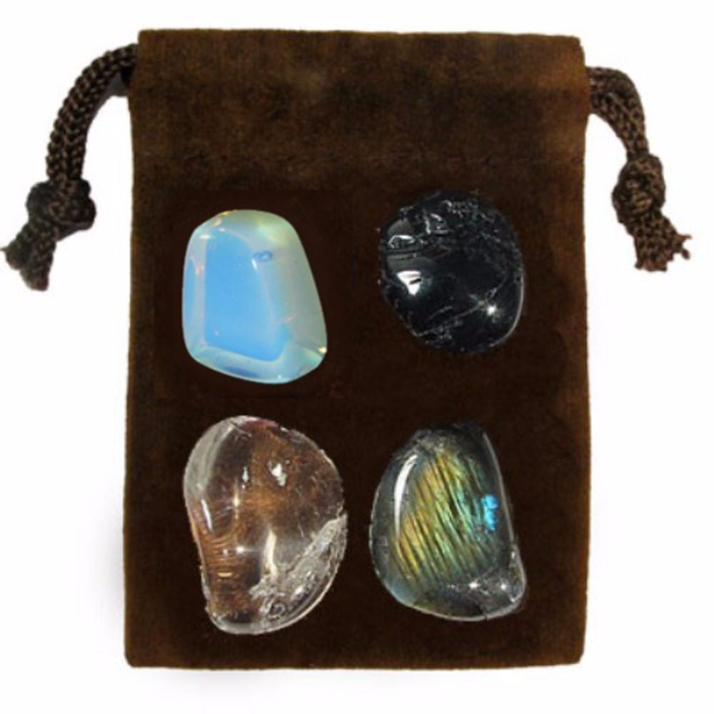 ENERGY KIT Crystal Healing Set - MEDITATION - Crystal Rock Emporium
