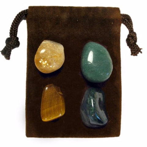 ENERGY KIT Crystal Healing Set - PROSPERITY - Crystal Rock Emporium