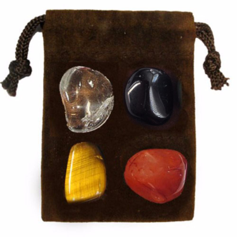 ENERGY KIT Crystal Healing Set - PROTECTION - Crystal Rock Emporium